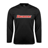 Performance Black Longsleeve Shirt-Engineers