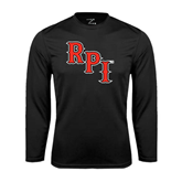 Performance Black Longsleeve Shirt-RPI