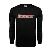 Black Long Sleeve TShirt-Engineers