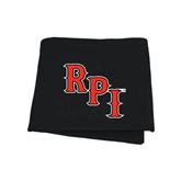 Black Sweatshirt Blanket-RPI