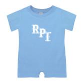 Light Blue Infant Romper-RPI