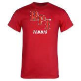 Red T Shirt-Tennis