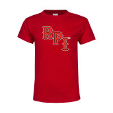 Youth Red T Shirt-RPI