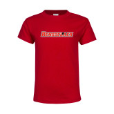Youth Red T Shirt-Rensselaer