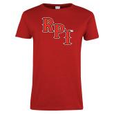 Ladies Red T Shirt-RPI