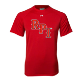 Under Armour Red Tech Tee-RPI