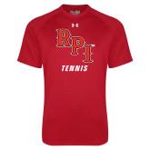 Under Armour Red Tech Tee-Tennis