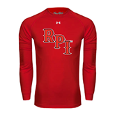 Under Armour Red Long Sleeve Tech Tee-RPI
