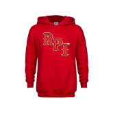 Youth Red Fleece Hoodie-RPI