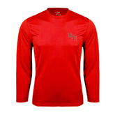 Syntrel Performance Red Longsleeve Shirt-RPI