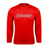 Syntrel Performance Red Longsleeve Shirt-Engineers