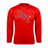 Performance Red Longsleeve Shirt-RPI