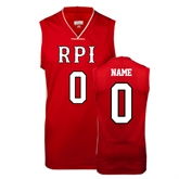 Replica Red Adult Basketball Jersey-personalized