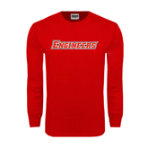 Red Long Sleeve T Shirt-Engineers