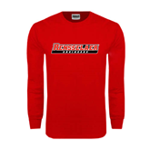 Red Long Sleeve T Shirt-Rensselaer Engineers