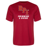 Syntrel Performance Red Tee-Swimming & Diving
