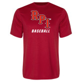 Performance Red Tee-Baseball