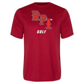 Performance Red Tee-Golf