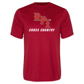 Performance Red Tee-Cross Country