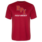 Syntrel Performance Red Tee-Field Hockey