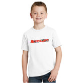 Youth White T Shirt-Rensselaer