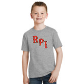 Youth Grey T-Shirt-RPI