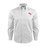 Red House White Long Sleeve Shirt-RPI