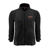 Fleece Full Zip Black Jacket-Rensselaer