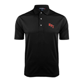 Black Dry Mesh Polo-RPI