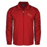 Full Zip Red Wind Jacket-RPI