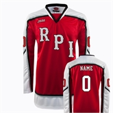 Red Hockey Replica Jersey-