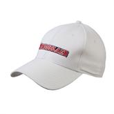 White Heavyweight Twill Pro Style Hat-Rensselaer