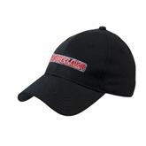 Black Heavyweight Twill Pro Style Hat-Rensselaer