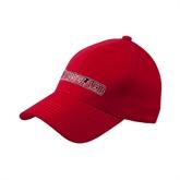 Red Heavyweight Twill Pro Style Hat-Rensselaer