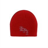 Red Knit Beanie-RPI
