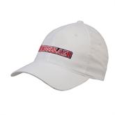White OttoFlex Unstructured Low Profile Hat-Rensselaer