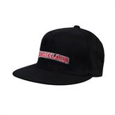 Black OttoFlex Flat Bill Pro Style Hat-Rensselaer