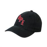 Black OttoFlex Unstructured Low Profile Hat-RPI