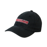 Black OttoFlex Unstructured Low Profile Hat-Rensselaer