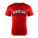 NIKE Red Classic Short Sleeve Tee-