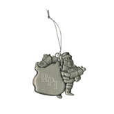 Pewter Santa Ornament-RPI Engraved
