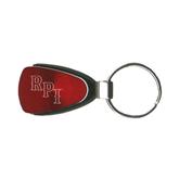 Red Teardrop Key Holder-RPI Engraved