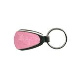 Pink Teardrop Key Holder-RPI Engraved