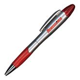 Silver/Red Blossom Pen/Highlighter-Rensselaer