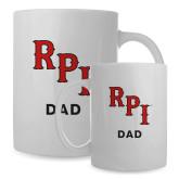 Dad Full Color White Mug 15oz-RPI