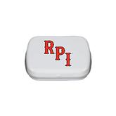 White Rectangular Peppermint Tin-RPI