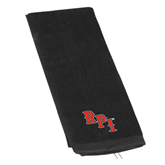 Black Golf Towel-RPI