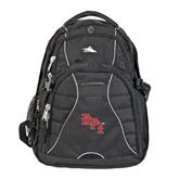 High Sierra Swerve Black Compu Backpack-RPI
