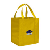 Non Woven Gold Grocery Tote-Primary