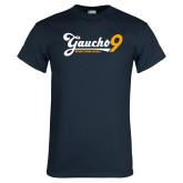 Navy T Shirt-Gauchos 9